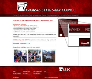 arkansas state sheep council  assc  has a great new look